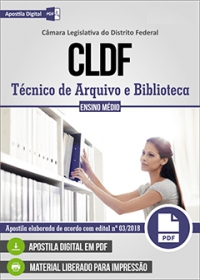 Técnico de Arquivo e Biblioteca - CLDF