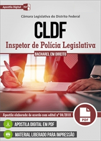 Inspetor de Polícia Legislativa - CLDF