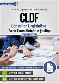 Consultor Legislativo - Área Constituição e Justiça - CLDF