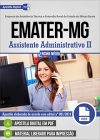 Assistente Administrativo II - EMATER-MG