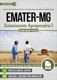 Extensionista Agropecuário I - EMATER-MG