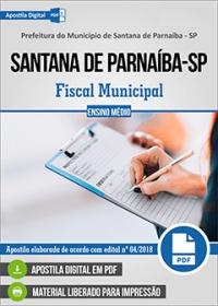 Fiscal Municipal - Prefeitura de Santana de Parnaíba - SP