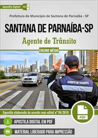Agente de Trânsito - Prefeitura de Santana de Parnaíba - SP