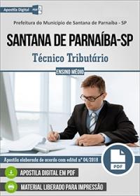 Técnico Tributário - Prefeitura de Santana de Parnaíba - SP