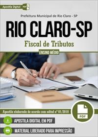 Fiscal de Tributos - Prefeitura de Rio Claro - SP