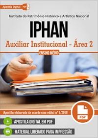 Auxiliar Institucional - Área 2 - IPHAN