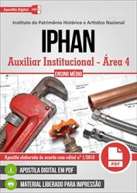 Auxiliar Institucional - Área 4 - IPHAN
