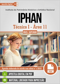 Técnico I - Área 11 - IPHAN