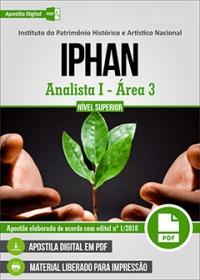 Analista I - Área 3 - IPHAN