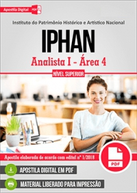Analista I - Área 4 - IPHAN