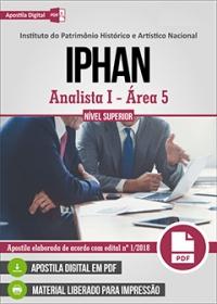 Analista I - Área 5 - IPHAN