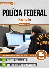 Escrivão - Polícia Federal
