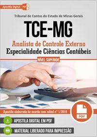 Analista de Controle Externo - Ciências Contábeis - TCE-MG