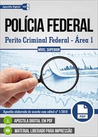 Perito Criminal Federal - Área 1 - Polícia Federal