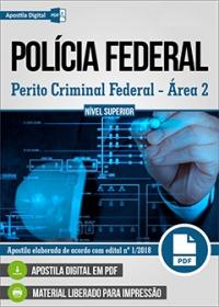Perito Criminal Federal - Área 2 - Polícia Federal
