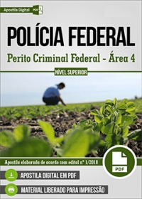 Perito Criminal Federal - Área 4 - Polícia Federal