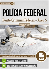 Perito Criminal Federal - Área 5 - Polícia Federal