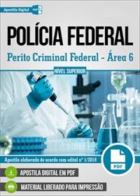 Perito Criminal Federal - Área 6 - Polícia Federal
