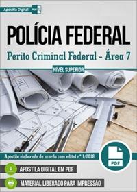 Perito Criminal Federal - Área 7 - Polícia Federal