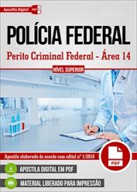 Perito Criminal Federal - Área 14 - Polícia Federal