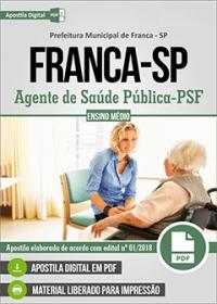 Agente de Saúde Pública - PSF - Prefeitura de Franca - SP