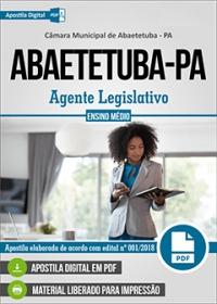 Agente Legislativo - Câmara de Abaetetuba - PA