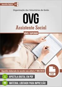 Assistente Social - Organização das Voluntárias de Goiás - OVG