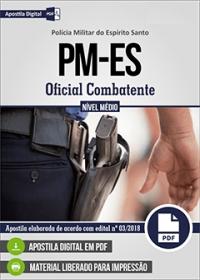 Oficial Combatente - Polícia Militar - ES