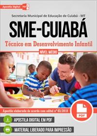 Técnico em Desenvolvimento Infantil - SME-Cuiabá-MT