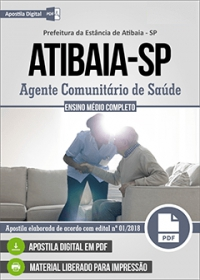 Agente Comunitário de Saúde - Prefeitura de Atibaia - SP