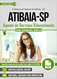 Agente de Serviços Educacionais - Prefeitura de Atibaia - SP