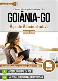 Agente Administrativo - Câmara de Goiânia - GO