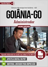 Administrador - Câmara de Goiânia - GO