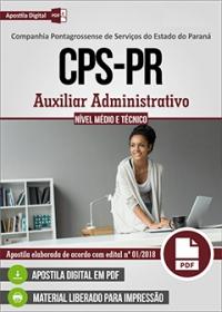 Auxiliar Administrativo - CPS-PR