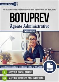 Agente Administrativo - BOTUPREV