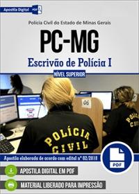 Escrivão de Polícia I - Polícia Civil - MG