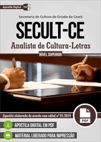 Analista de Cultura - Letras - SECULT-CE
