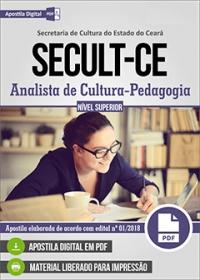 Analista de Cultura - Pedagogia - SECULT-CE