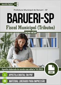 Fiscal Municipal (Tributos) - Prefeitura de Barueri - SP
