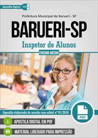 Inspetor de Alunos - Prefeitura de Barueri - SP