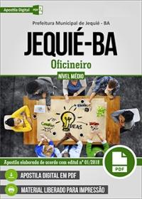 Oficineiro - Prefeitura de Jequié - BA