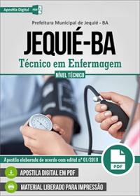 Técnico em Enfermagem - Prefeitura de Jequié - BA