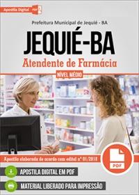 Atendente de Farmácia - Prefeitura de Jequié - BA