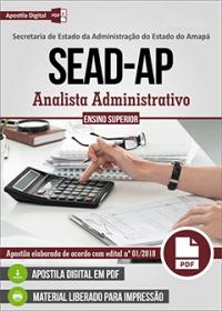 Analista Administrativo - SEAD-AP