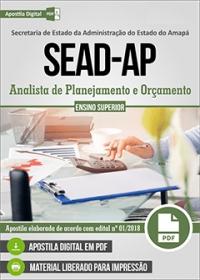 Analista de Planejamento e Orçamento - SEAD-AP