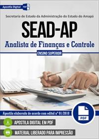 Analista de Finanças e Controle - SEAD-AP