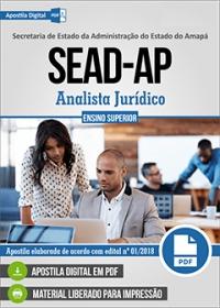 Analista Jurídico - SEAD-AP