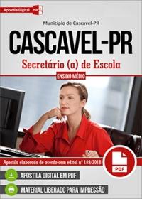 Secretário de Escola - Prefeitura de Cascavel - PR