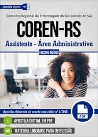 Assistente - Área Administrativa - COREN-RS