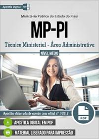 Técnico Ministerial - Área Administrativa - Ministério Público - PI